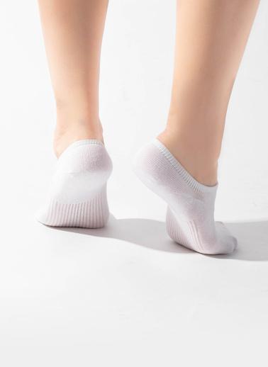 Katia & Bony 7'Li Paket Unisex Patik Çorap Beyaz